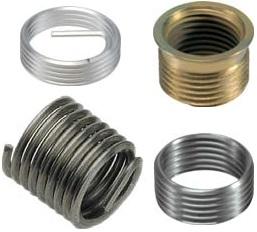 Цельные резьбовые вставки SP для свечной резьбы нержавеющая сталь